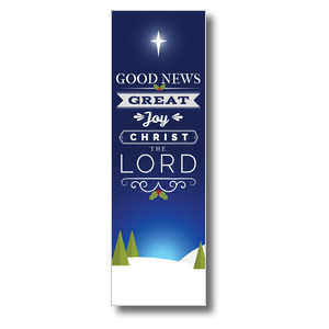 Christ The Lord 2' x 6' Banner