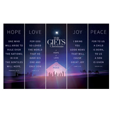 The Gifts of Christmas Advent 5 Banner Set Banner