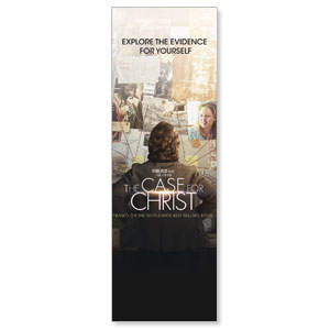 The Case for Christ Movie 2' x 6' Banner