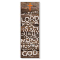 Shiplap Micah 6:8 Natural