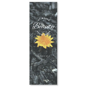 Beauty Out of Ashes 2' x 6' Banner