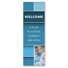 Mid Century Welcome Banner
