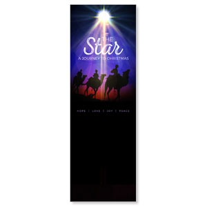 The Star: A Journey to Christmas 2' x 6' Banner