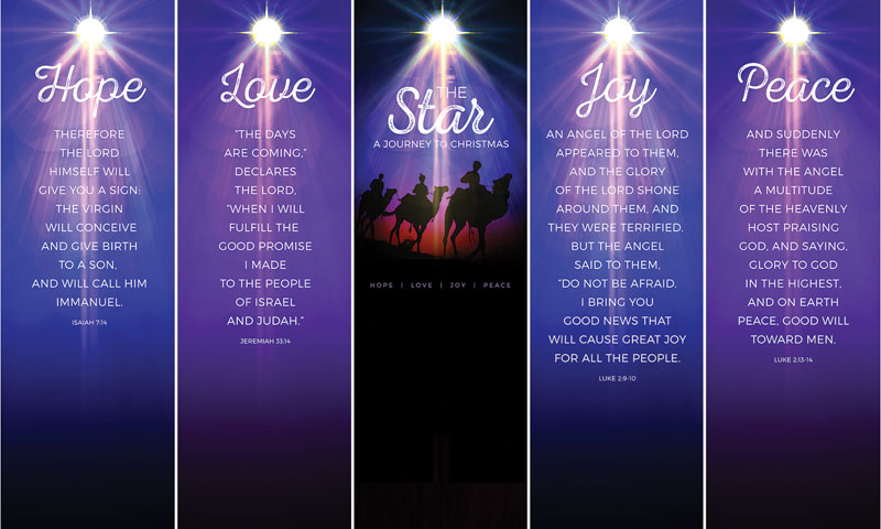 the star a journey to christmas banner church banners outreach