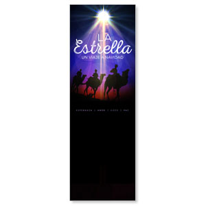 The Star: A Journey to Christmas Spanish 2' x 6' Banner