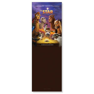 The Star Movie Advent Series for Kids 2' x 6' Banner