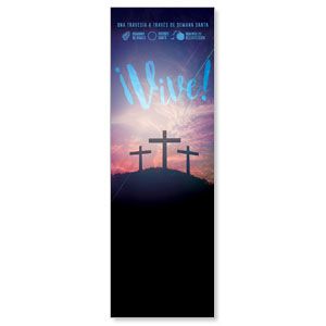 Come Alive Easter Journey Spanish Banners