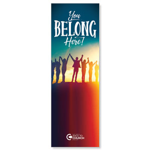 BTCS You Belong Here 2' x 6' Banner
