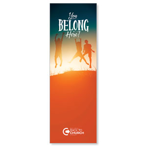 BTCS You Belong Here Kids Banners