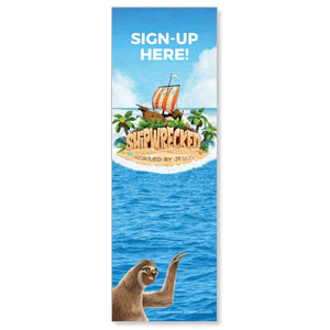 Shipwrecked Sign Up Banners
