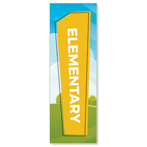 Bright Meadow Elementary 2' x 6' Banner