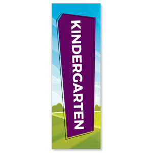Bright Meadow Kindergarten 2' x 6' Banner