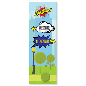 Scripture Squad Directional 2' x 6' Banner