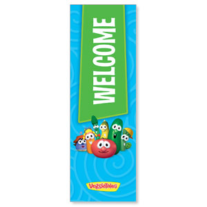 VeggieTales Welcome Banners