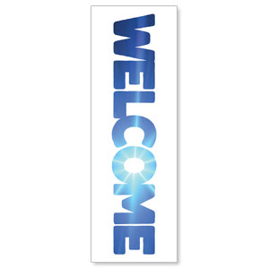 Welcome Sky 2' x 6' Banner