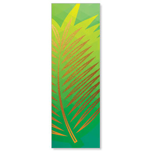 Bold Iconography Palm Branch 2' x 6' Banner