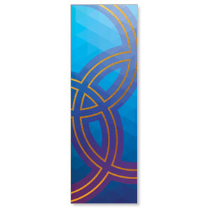 Bold Iconography Trinity 2' x 6' Banner