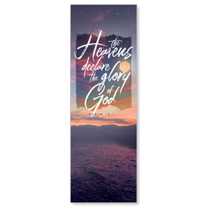 Beautiful Praise Heavens Declare 2' x 6' Banner