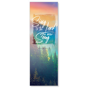 Beautiful Praise Sing to the Lord 2' x 6' Banner