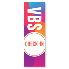 Curved Colors VBS Check-In