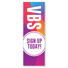 Curved Colors VBS Sign Up