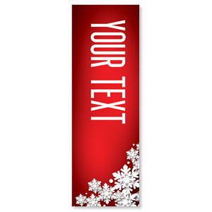 Christmas At Red Your Text 2' x 6' Banner