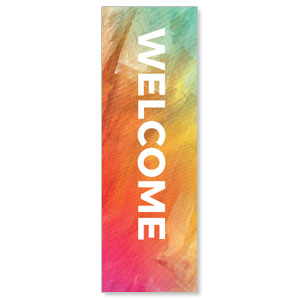 The Easter Challenge Welcome 2' x 6' Banner