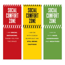 Social Comfort Zone Triptych