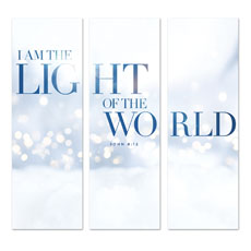 Light Of The World Sparkle Triptych
