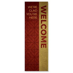 Celebrate The Season Advent Welcome 2' x 6' Banner