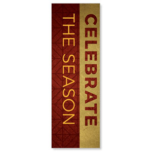 Celebrate The Season Advent 2' x 6' Banner