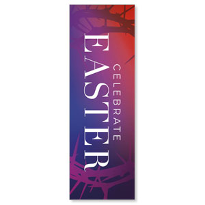Celebrate Easter Crown 2' x 6' Banner