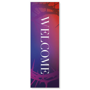 Celebrate Easter Crown Welcome 2' x 6' Banner
