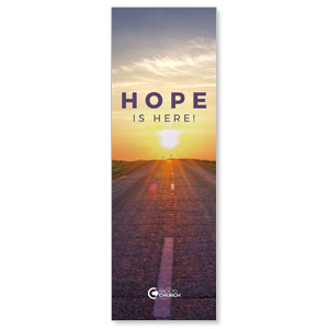 BTCS Hope Is Here 2' x 6' Banner