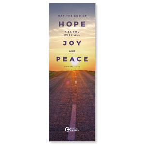 BTCS Hope Is Here Scripture 2' x 6' Banner