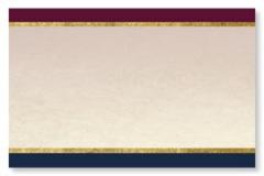 Blue Burgundy InfoSign Displays & Stands