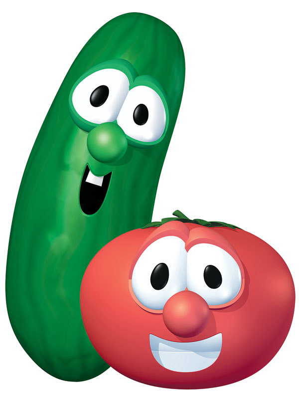 VeggieTales Bob and Larry Banner - Church Banners ...