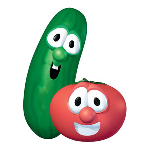 VeggieTales Bob and Larry StickUp