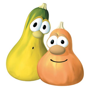 VeggieTales Jimmy and Jerry StickUp