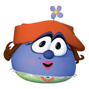 VeggieTales Madame Blueberry Banners