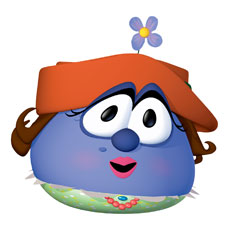 VeggieTales Madame Blueberry