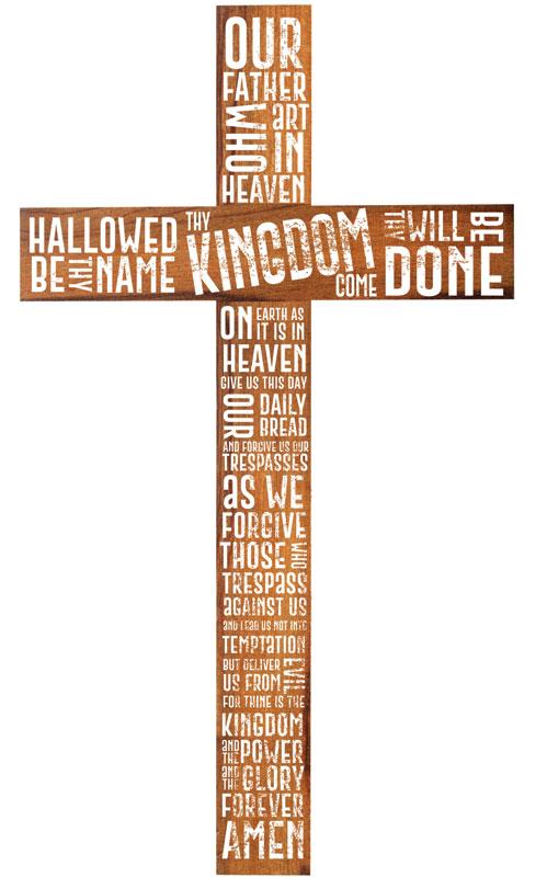 Cross Lords Prayer