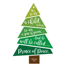 Scripture Christmas Tree
