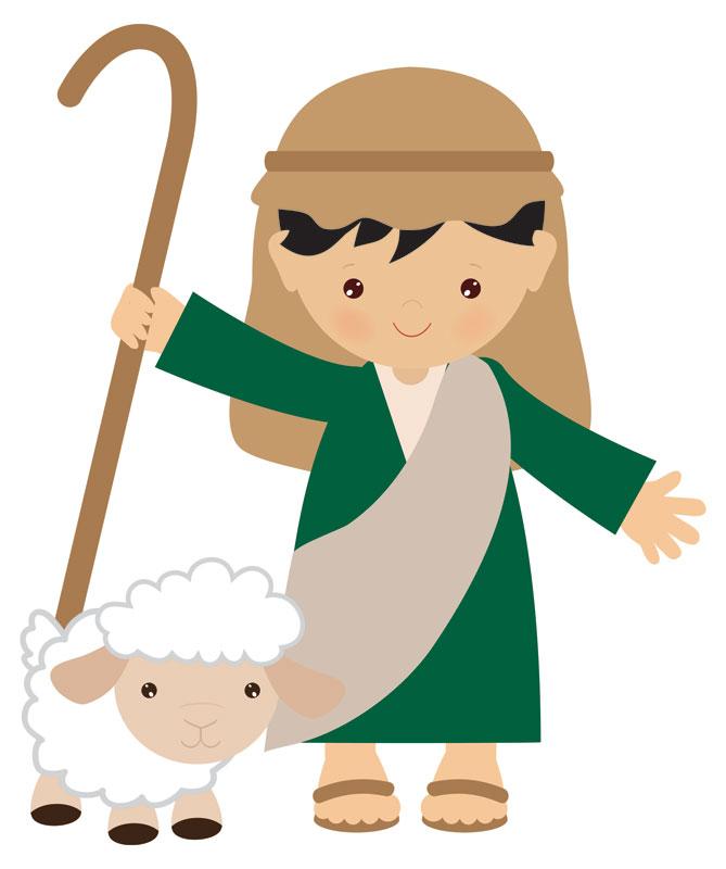 Nativity shepherds. Children s shepherd