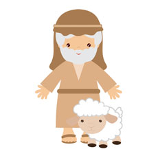 Children's Nativity Shepherd 2