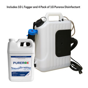 10L Fogger and Purerox Covid-19 Disinfectant Kit SpecialtyItems