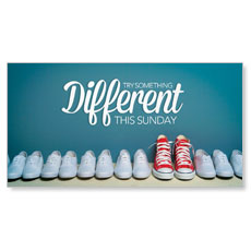 Different Shoes