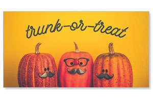 Mustache Trunk or Treat Social Media Ad Packages
