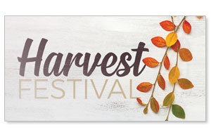 Fall Branch Harvest Festival Social Media Ad Packages