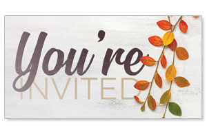 Fall Branch You're Invited Social Media Ad Packages